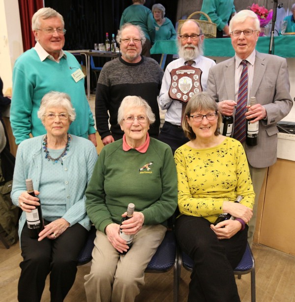 Quiz evening winners - Wimborne Civic Society